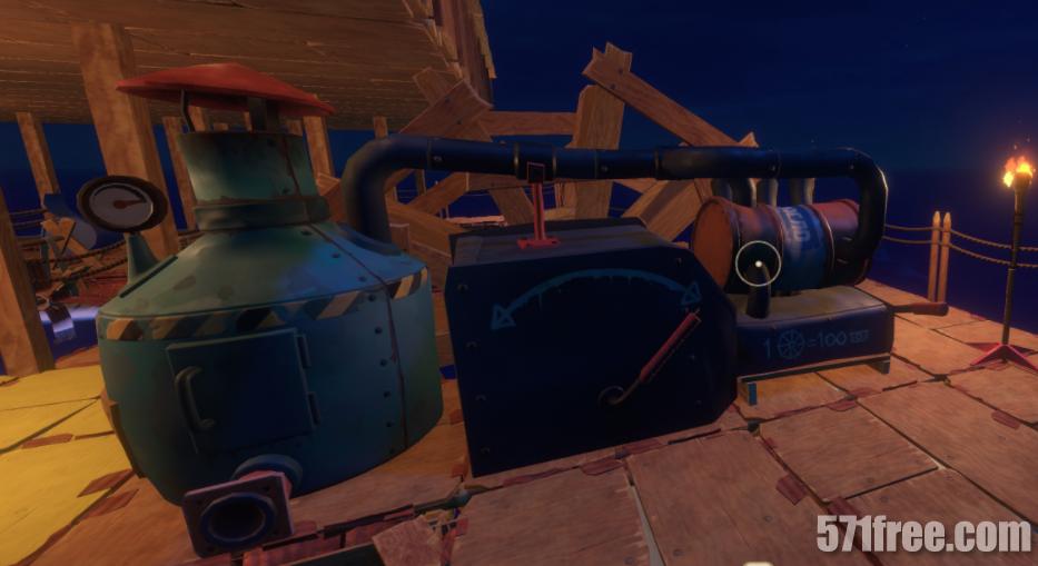 木筏求生发动机转的很慢没有劲怎么回事?